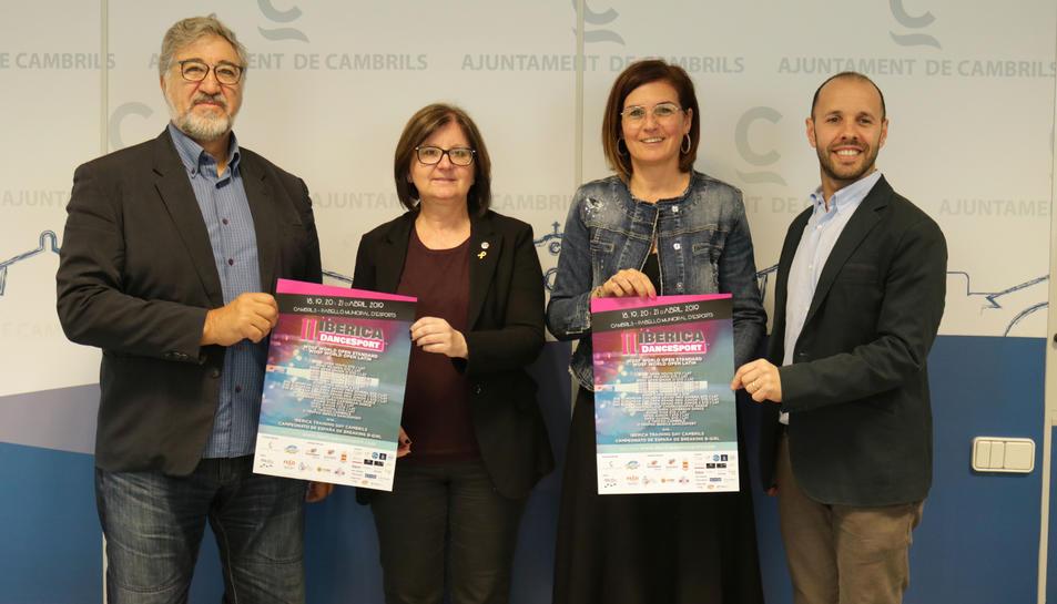 La competició es va presentar ahir a l'Ajuntament de Cambrils.