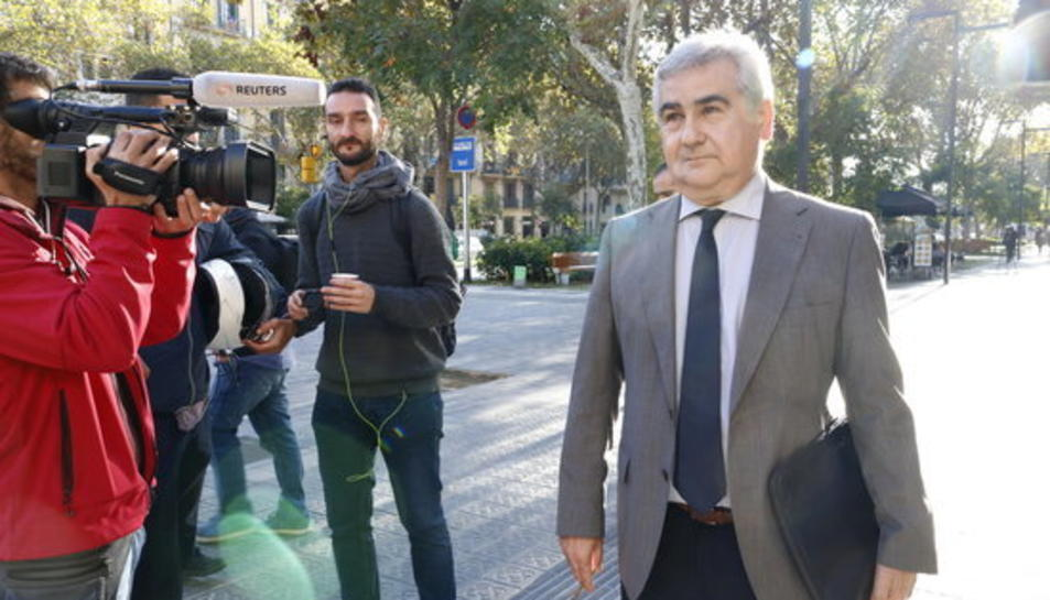 Imatge d'arxiu de l'exsecretari general d'Interior, Cèsar Puig.
