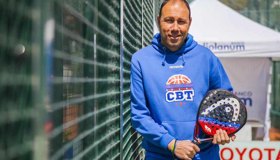 Berni Álvarez, al Club Tennis Tarragona.