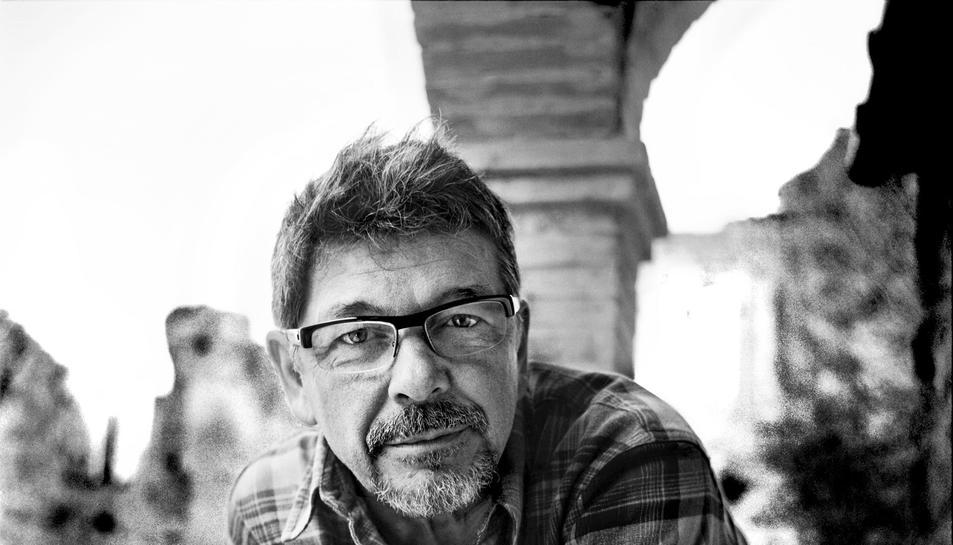 Pla mitjà del director de fotografia barceloní Josep Maria Civit