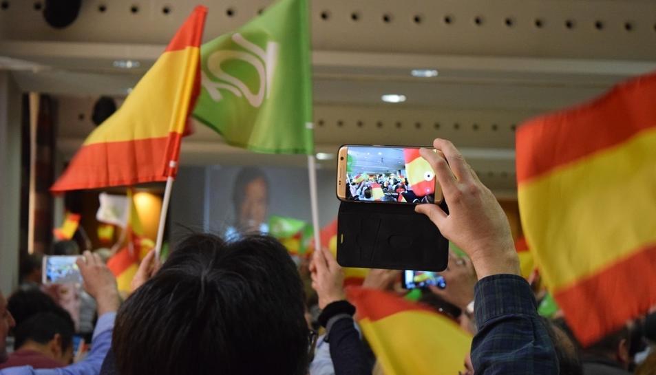 Imatge del míting.