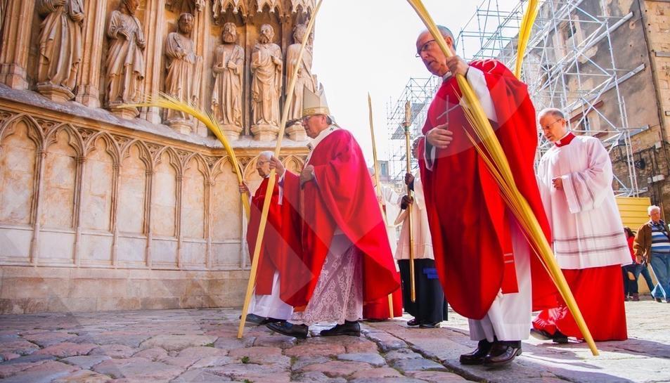 Bendición de ramos en Tarragona (II)