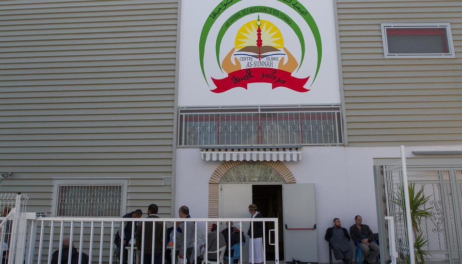 La façana de la mesquita As-sunnah, al polígon Granja Vila.