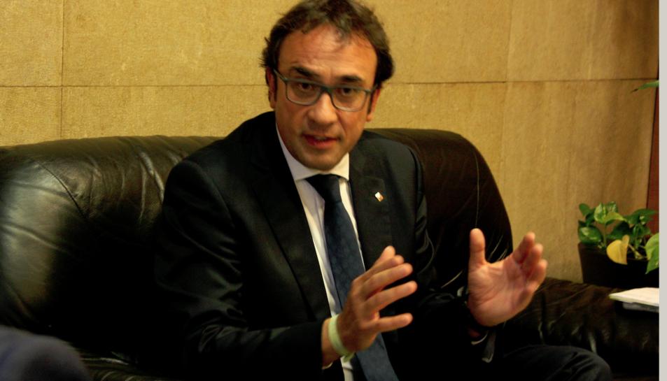 Josep Rull, exconseller de Territori i sostenibilitat, a Tarragona en una imatge d'arxiu.