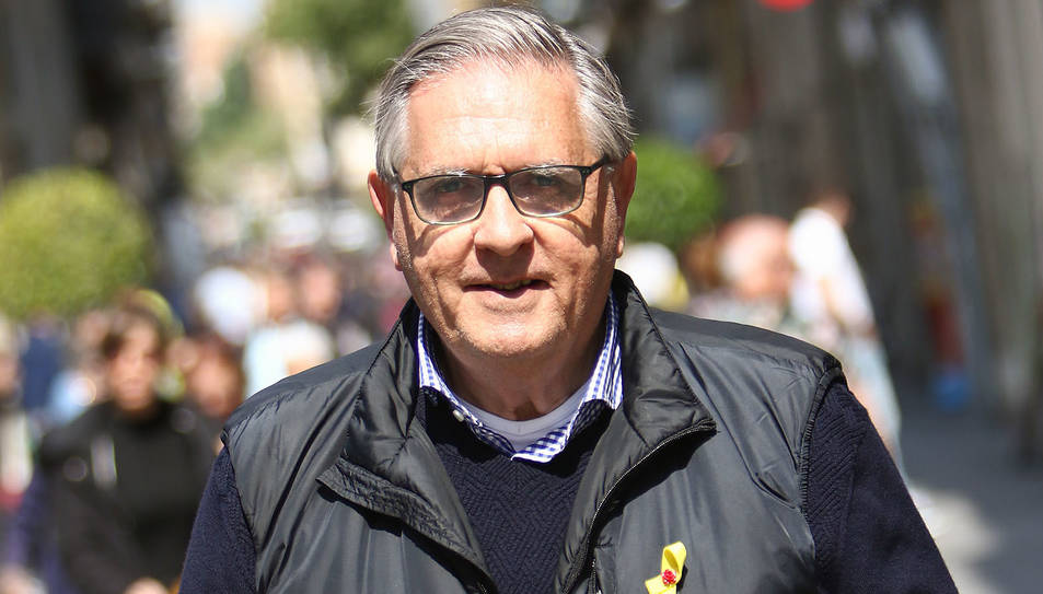 El doctor Eduard Prats aquest dimarts al carrer Llovera de Reus.