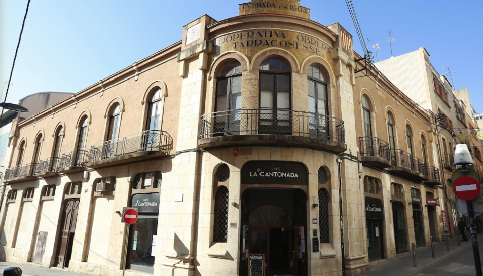 Imatge de la seu de la Cooperativa Obrera Tarraconense.
