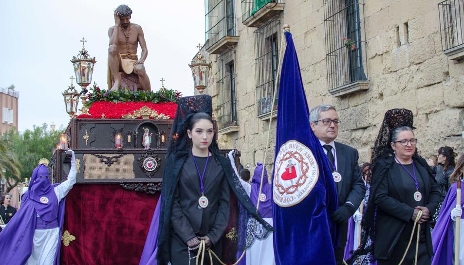 Imatge de la processó del Sant Enterrament de Tarragona.