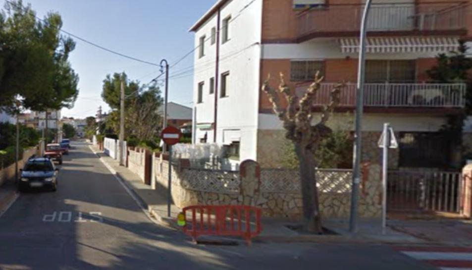 El carrer Margarida Xirgu de Roda de Berà