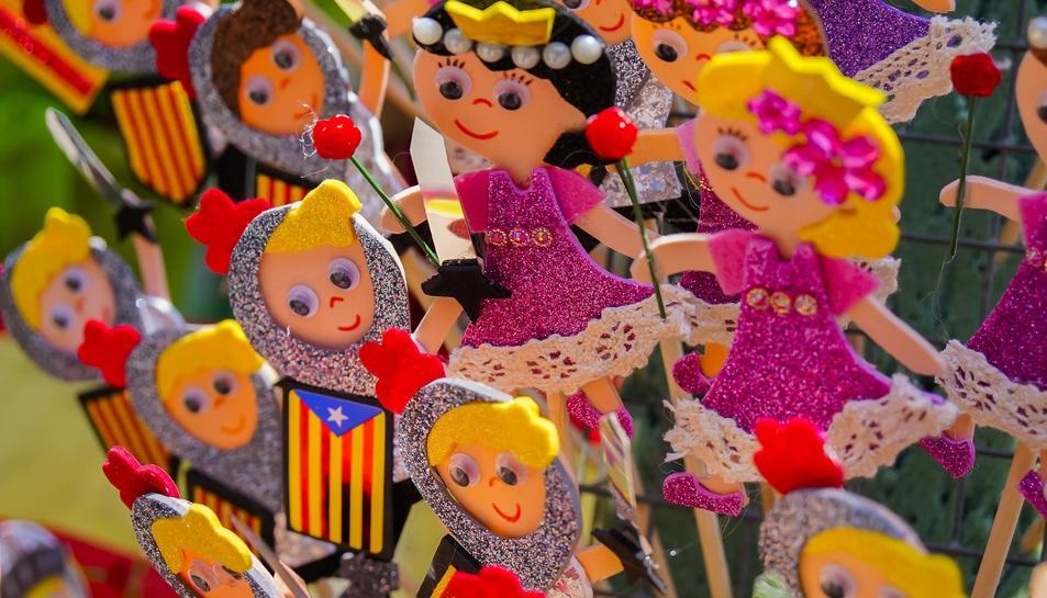 Diada de Sant Jordi 2019 a la Rambla Nova de Tarragona