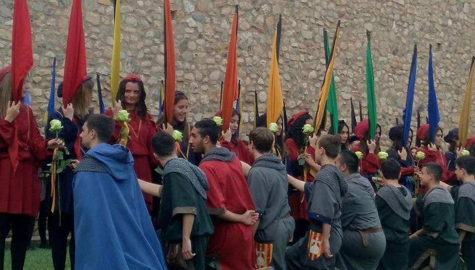 Durant la Diada de Sant Jordi s'han programat els primers actes de la Setmana Medieval.