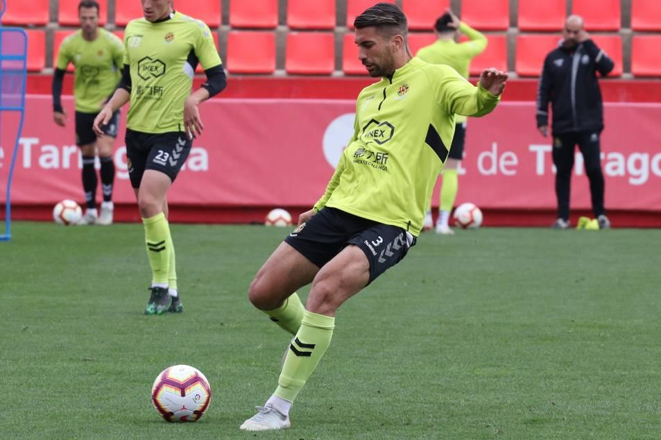 Josema, jugador del Nàstic