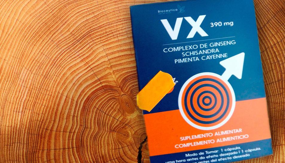 Imatge d'una caixa de 'Vx Cápsulas'.