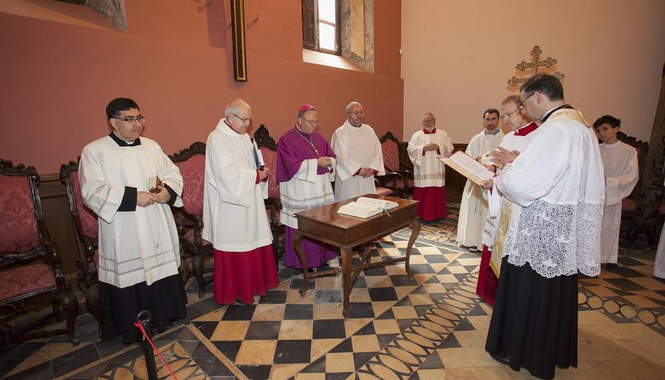 L'acte s'ha celebrat aquest dimecres a la sala capitular de la Catedral.