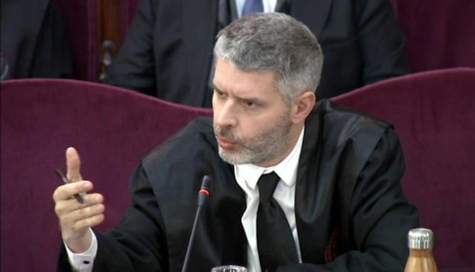 L'advocat de Romeva i Junqueras, Andreu Van den Eynde.