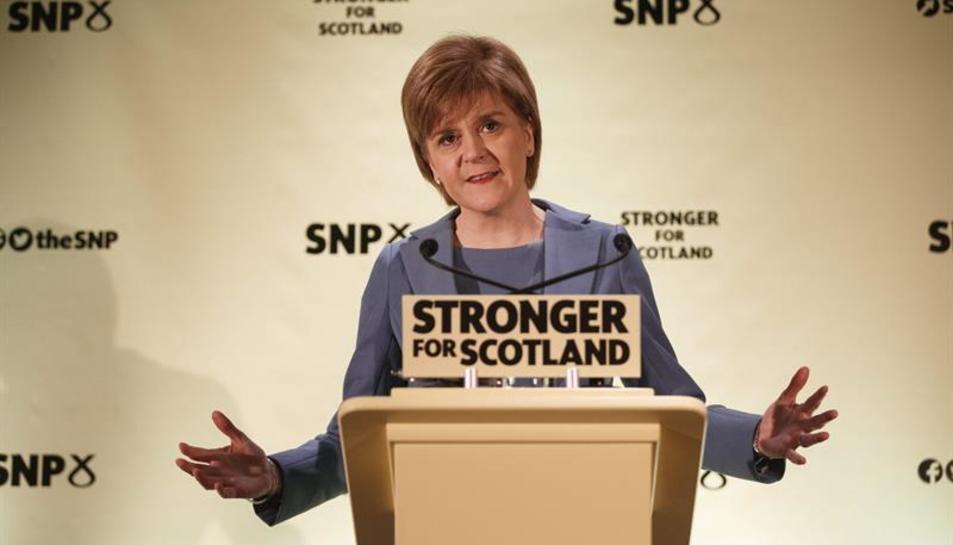 La primera ministra d'Escòcia, Nicola Strugeon.