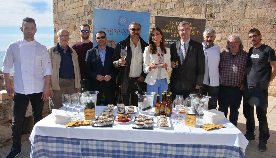 Imatge de la presentació de la 22a edició de les jornades gastronòmiques Tarraco a Taula.