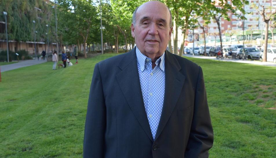 Santiago Campos, candidat al Congrés per Convergents.