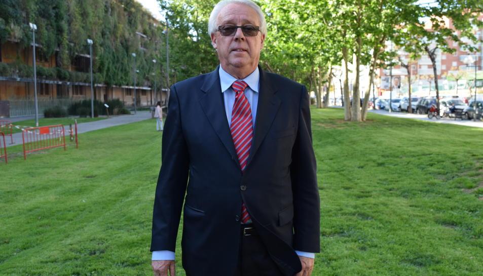 Magí Pallarès, alcalde de Sant Jaume i candidat al Senat.