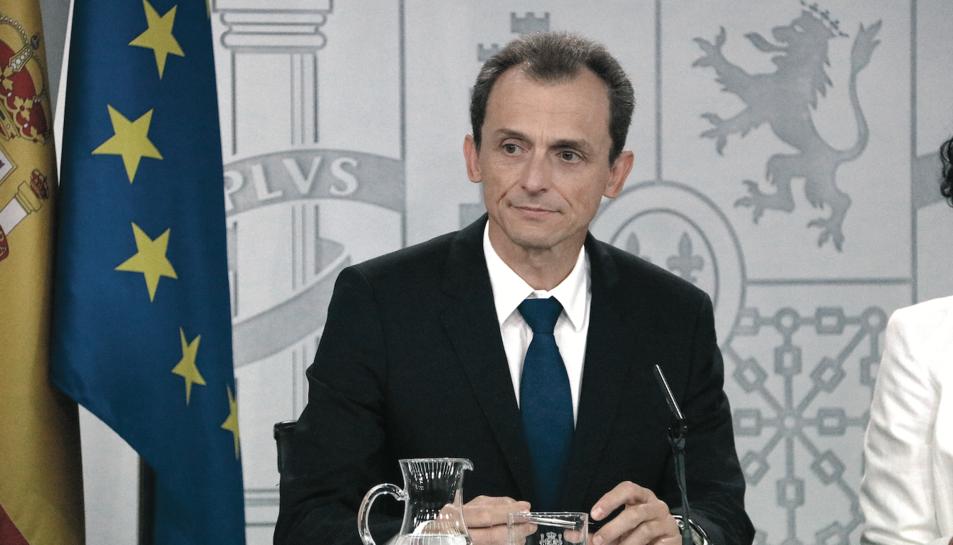 El ministre Pedro Duque