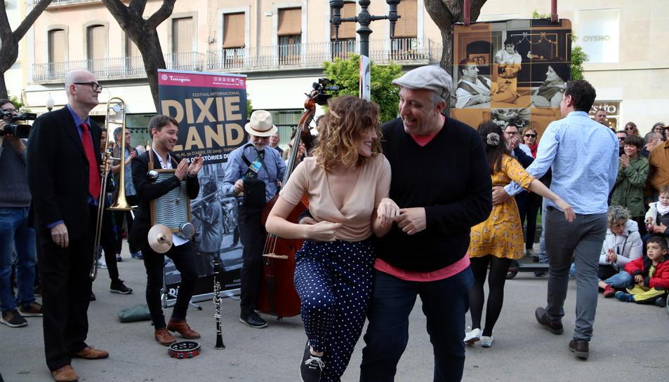 Doc Scanlon's Cool Cats Quartet i la Tgn Swing han donat el tret de sortida al Festival Internacional Dixieland de Tarragona.