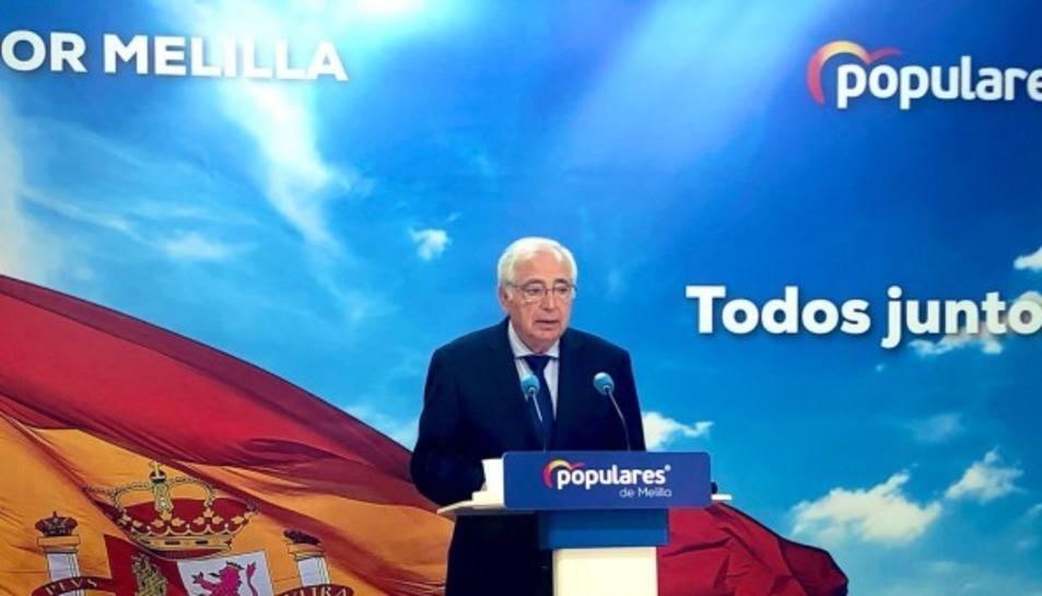 El president de Melilla pel PP, Juan José Imbroda.