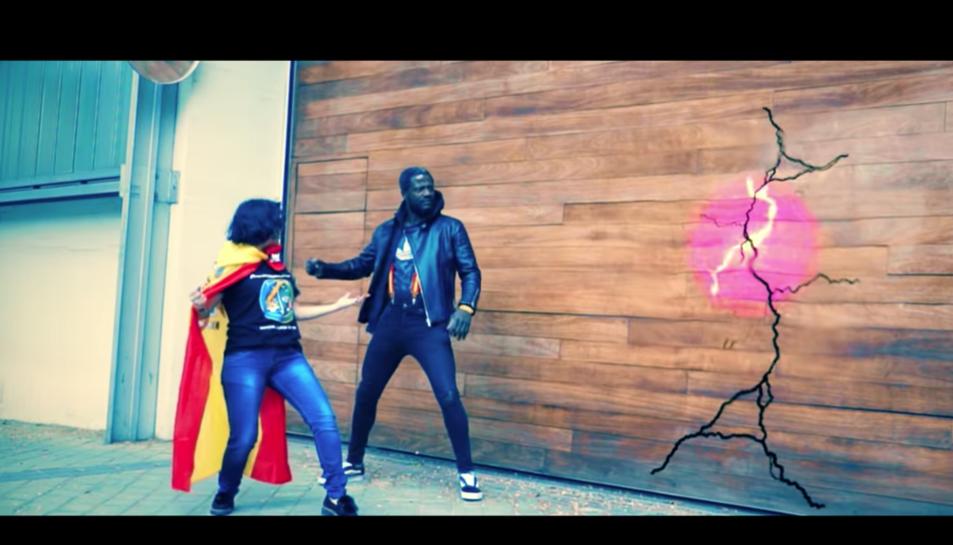 Imatge dels protagonistes de la cançó.