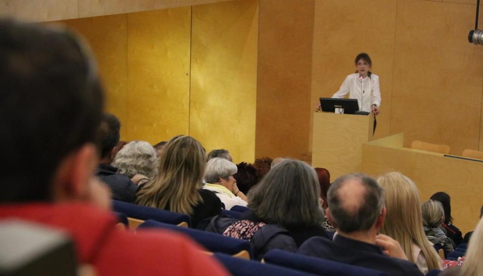 Pla general de la Jornada de Després dels Suïcidi - Associació de Supervivents (DSAS) a l'Hospital de Sant Pau de Barcelona.