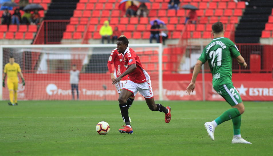 Thioune, contra l'Sporting de Gijón.