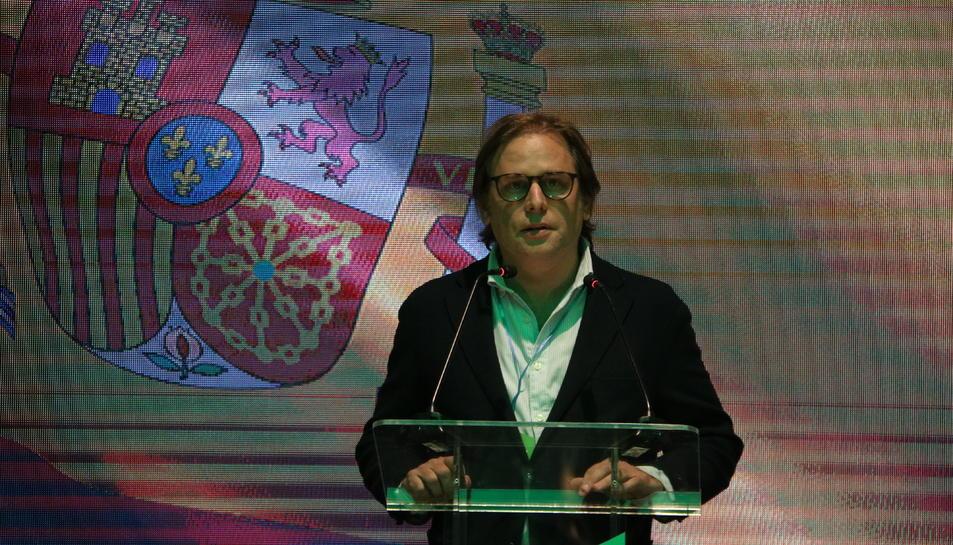 Pla mig del número sis de Vox per Barcelona, Juan Garriga.