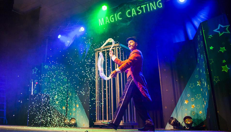 Imatge d'un dels espectacles del Festival de Màgia.
