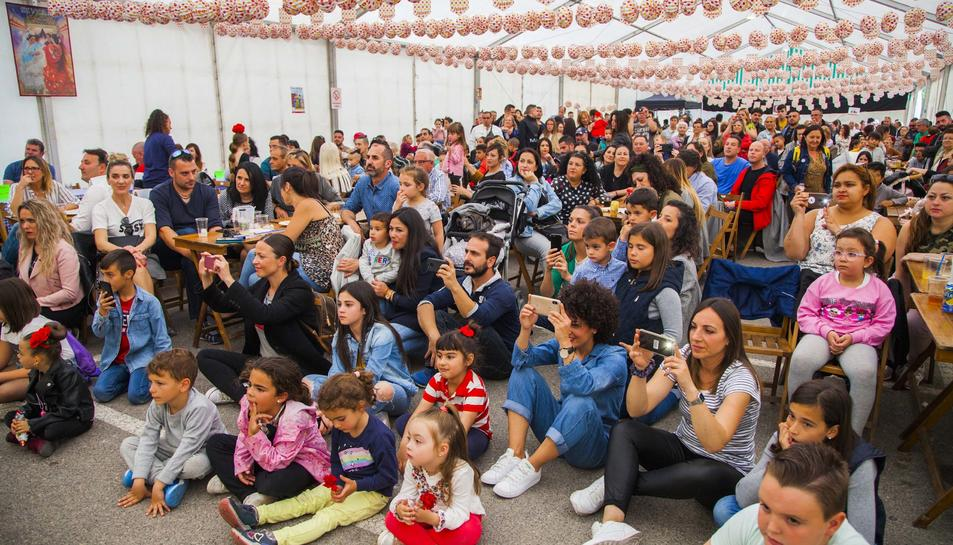 Primer cap de setmana de la Feria de Abril de Bonavista
