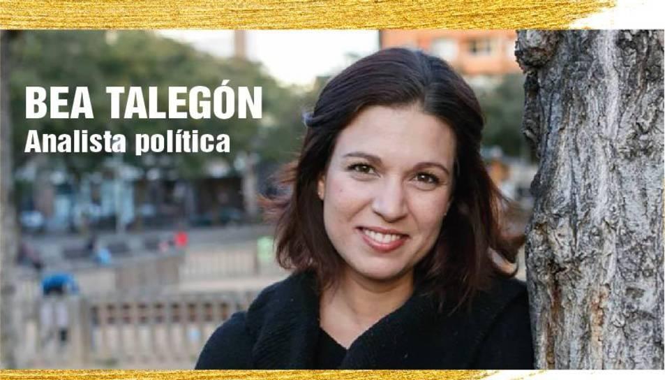 Cartell de la xerrada de Bea Talegón al Vendrell en el marc de 'Diàlegs per la República'.