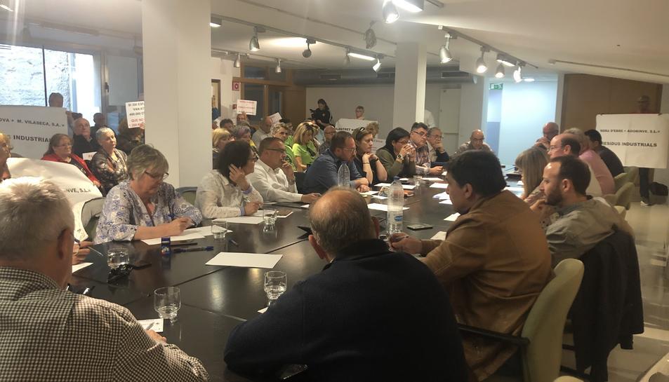 Pla general del ple del Consell Comarcal de la Ribera d'Ebre del 30 d'abril