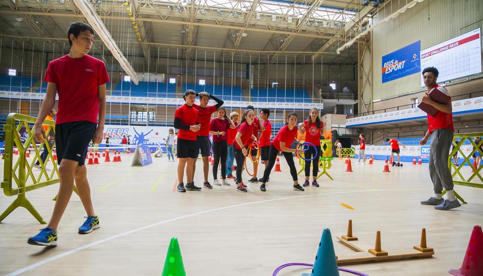 La jornada va realitzar-se al Pavelló Olímpic de Reus.