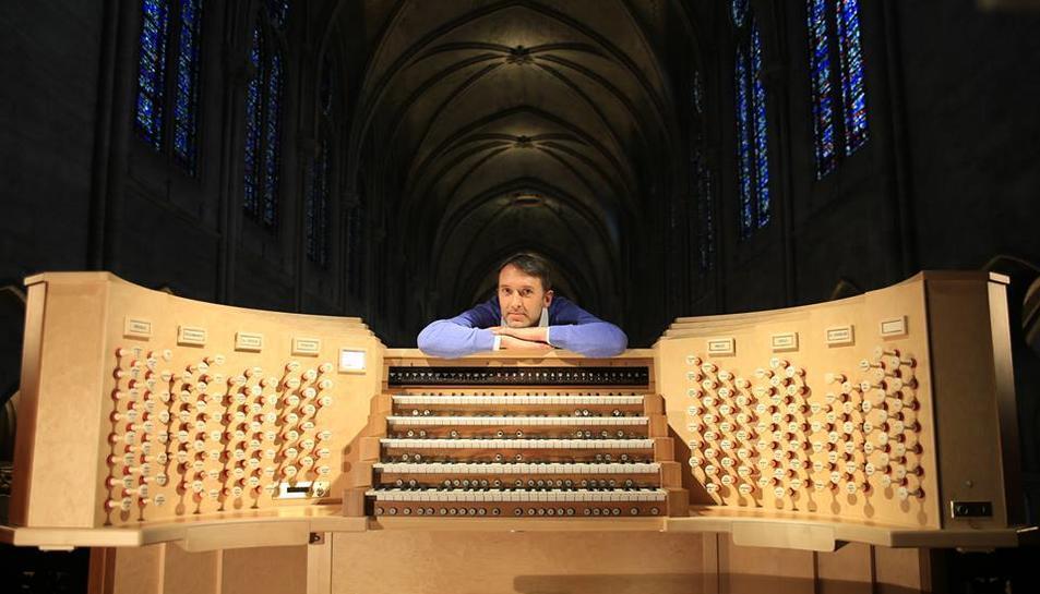 L'organista francès Olivier Latry actuarà a l'Auditori Pau Casals el 18 de juliol.