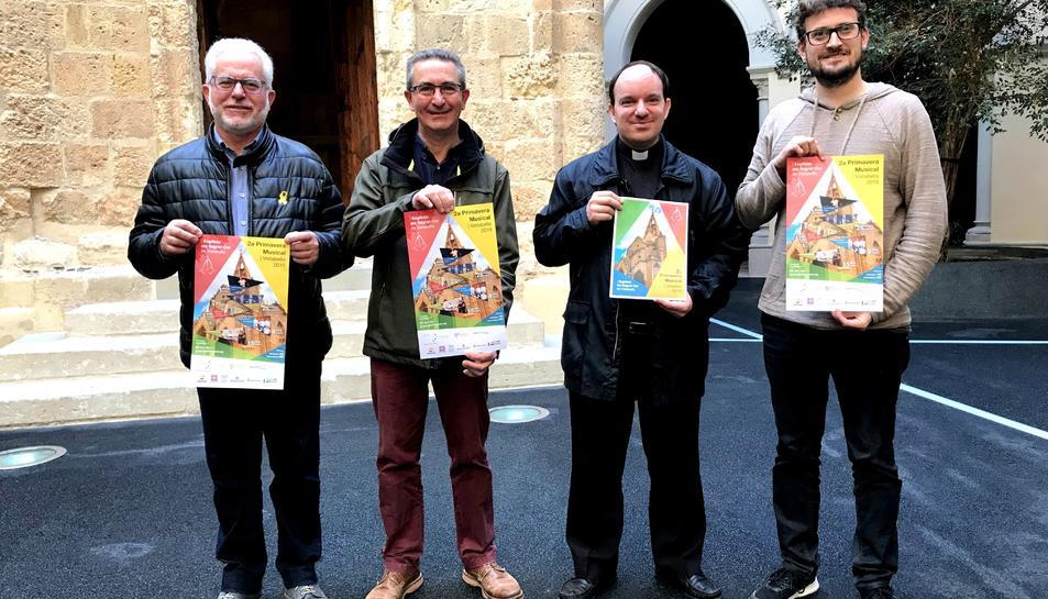 Imatge de la presentació de la 2a Primavera Musical a Vistabella.