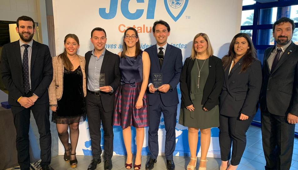 Els premis es van lliurar el passat dissabte a Tarragona.