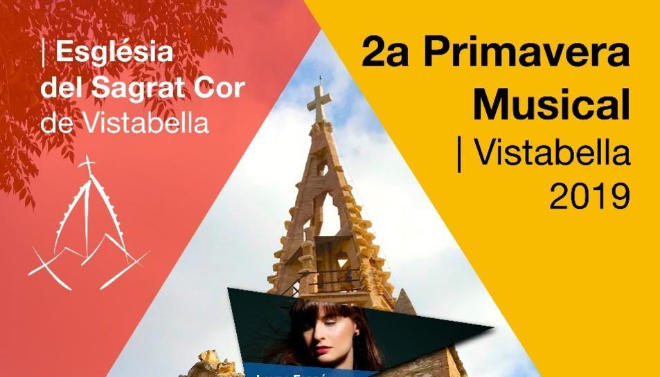 Cartell de la 2a Primavera Musical a Vistabella.