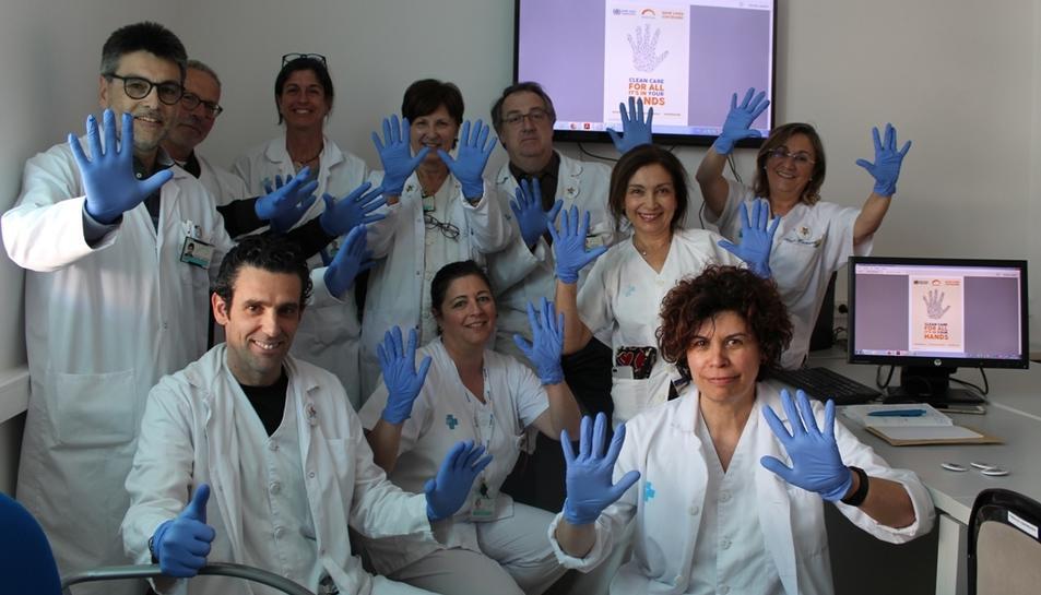 Treballadors de l'Hospital Joan XXIII han realitzat diverses activitats.