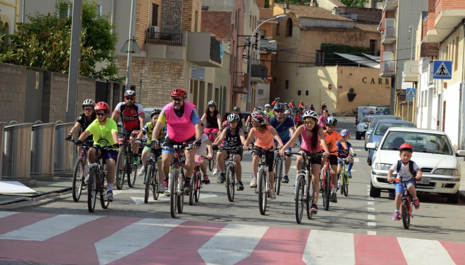 Imatge de la darrera edició de la Festa de la Bicicleta del Morell.