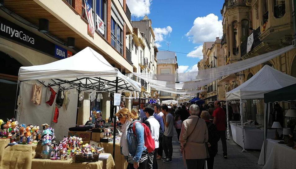 El mercat modernista va ser una de les atraccions de la fira.