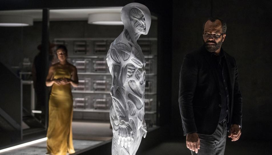 Fotograma d'un dels capítols de la segona temporada de la sèrie Westworld.