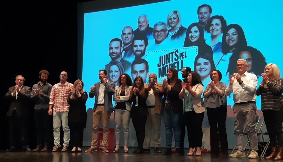 La presentació de la candidatura de Junts pel Morell va omplir el Teatre Auditori.