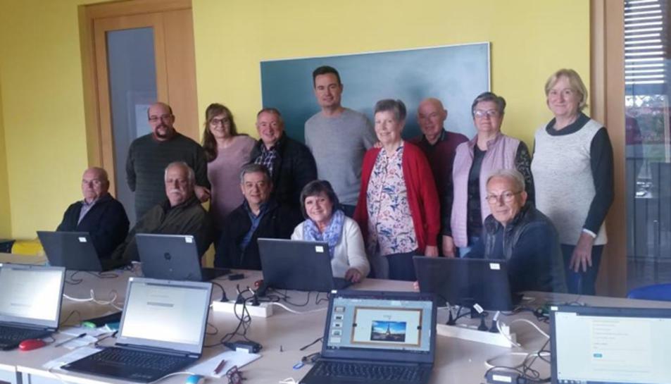 Imatge dels participants al curs.
