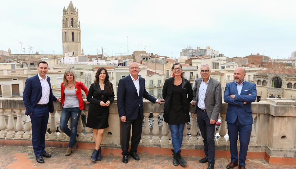 Rubio, Llauradó, García, Pellicer, Llorens, Martín i Domènech, candidats dels 7 amb representació.