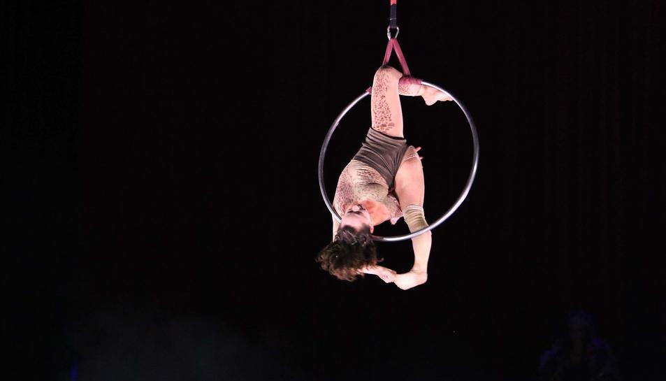'Cabaret' obre la XXIII Fira del Circ Trapezi