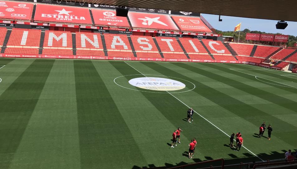 El Nou Estadi, abans del Nàstic-Mallorca