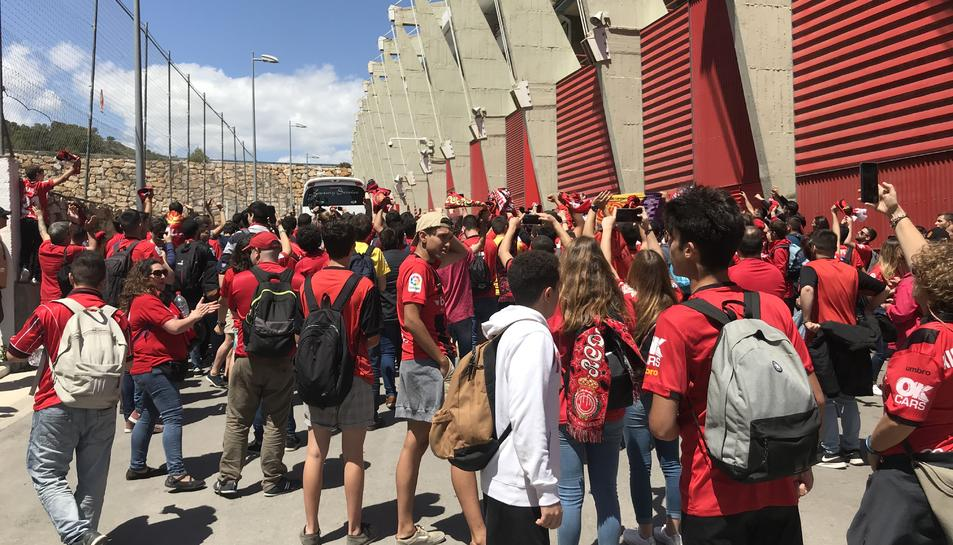 Seguidors del Mallorca, al Nou Estadi