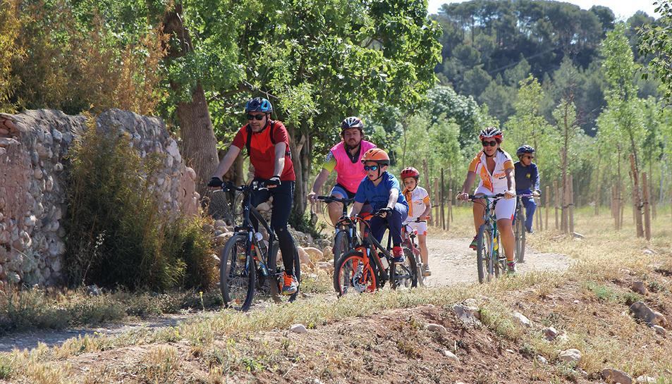 Imatge de l'edició d'enguany de la Festa de la Bicicleta del Morell.
