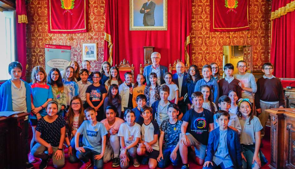 El Consell està format per 39 infants de Primària i 7 adolescents de Secundària.